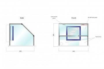 Waysafe SA640 Technical Drawing