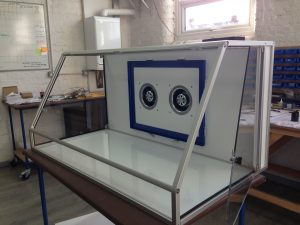 High Flow Large Format Asbestos Cabinet