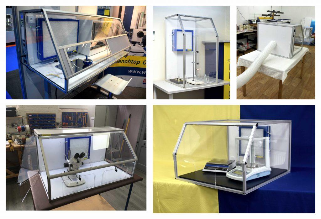 Custom Built Bespoke HEPA Filtered Safety Cabinets